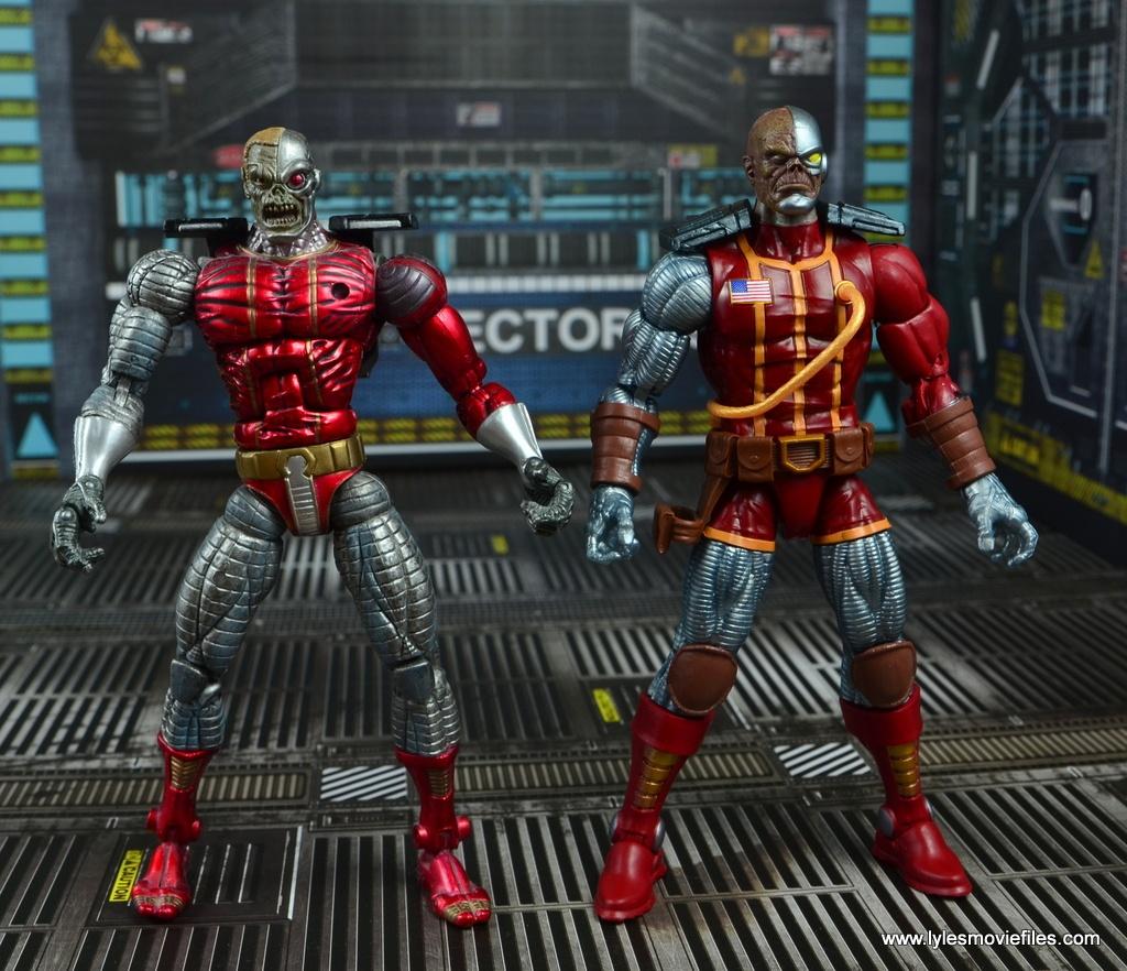 marvel legends deathlok figure review - with toy biz deathlok