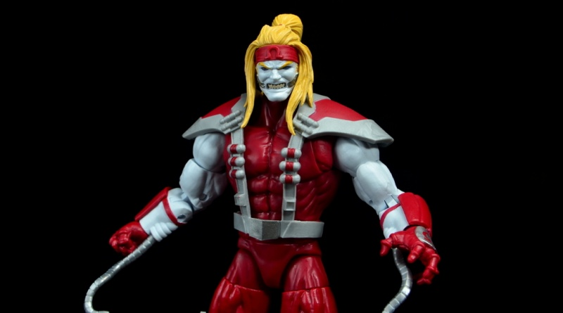 marvel legends omega red figure review - main pic