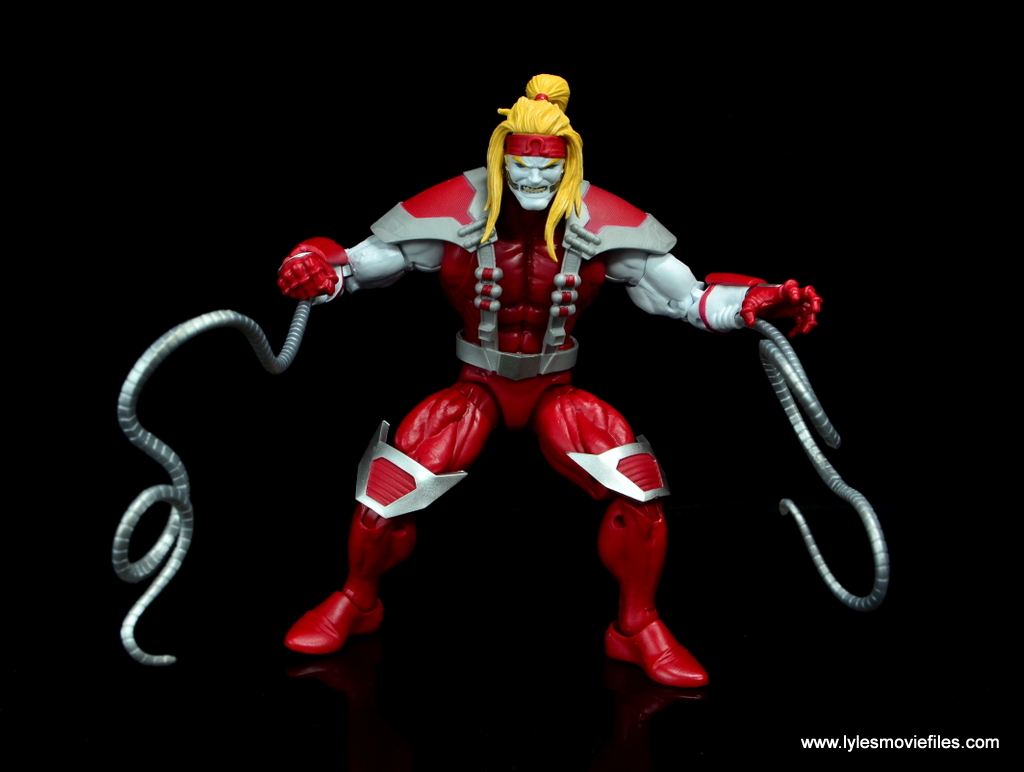 marvel legends omega red figure review - wide pic
