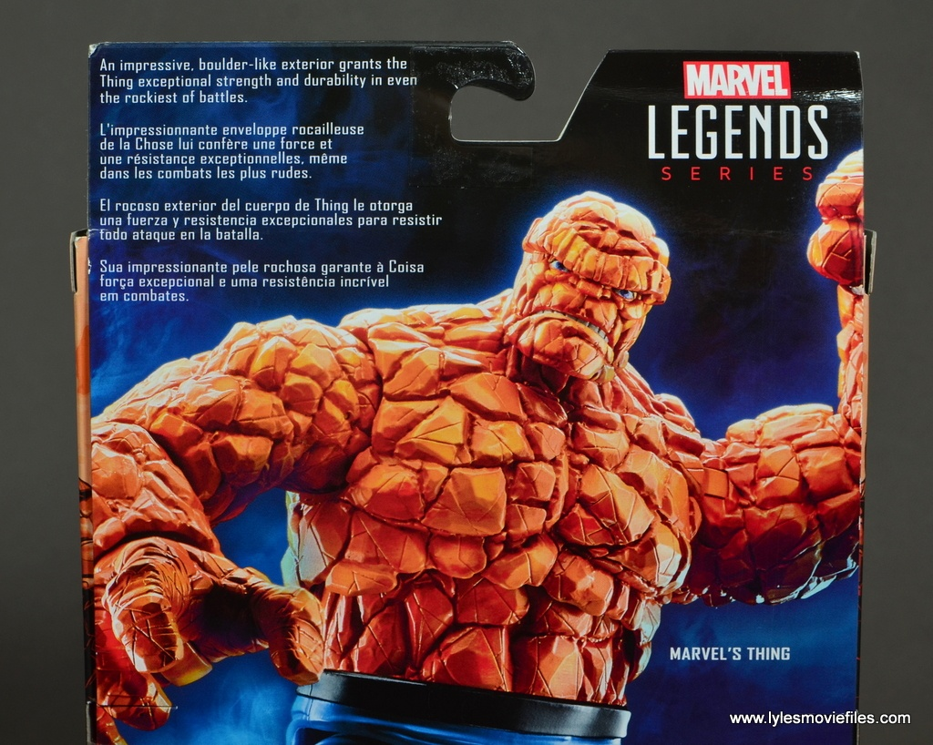 marvel legends the thing figure review - bio
