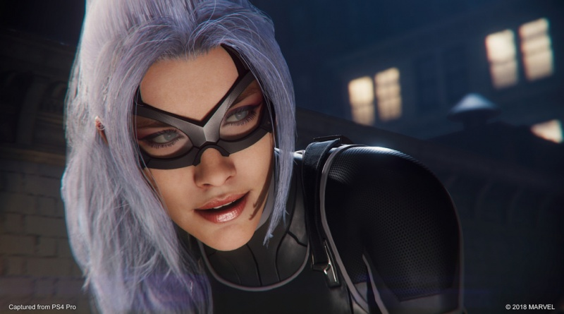 marvel's spider-man the heist - black cat