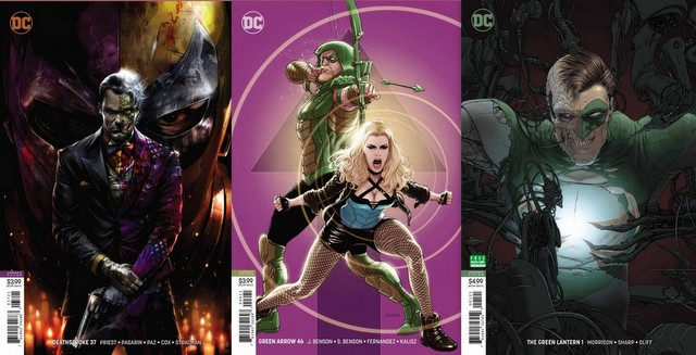 dc comics reviews 11/7/18