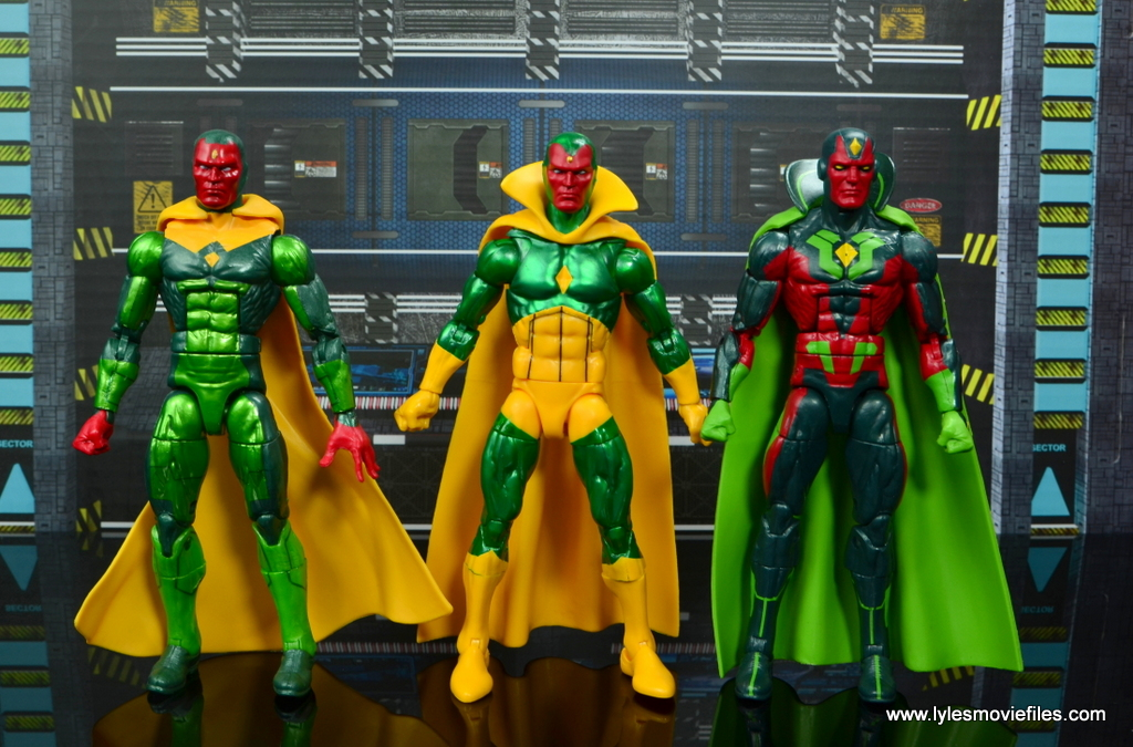 marvel legends vision figure review - with hasbro visions