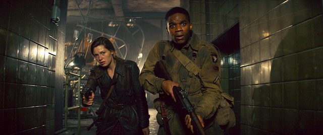 overlord movie review - mathilde ollivier and jovan adepo