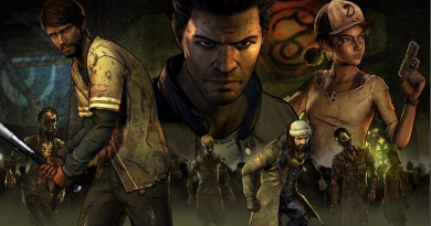 the walking dead a new frontier review - main collage art