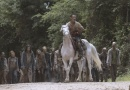 the walking dead what comes after review -rick leading the herd away