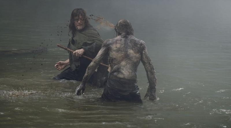 the walking dead who are you now review - daryl and swamp walker