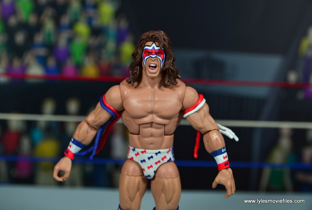 WWE Flashback Series Ultimate Warrior figure review | Lyles Movie Files