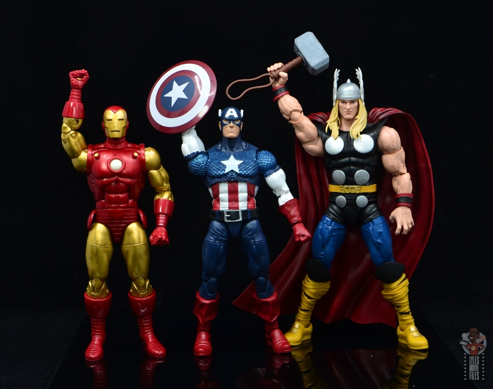 Captain America Marvel Legends 80th Anniversary