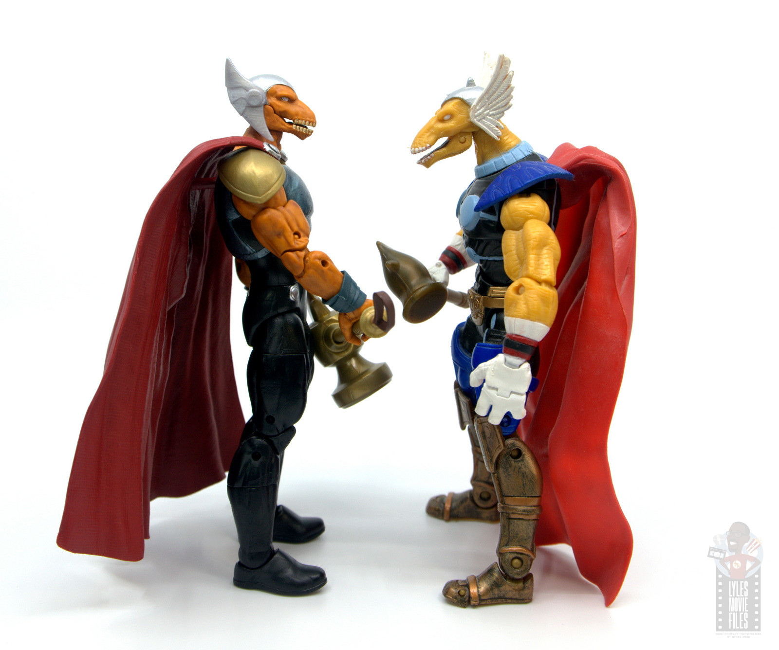 Marvel Legends Beta Ray Bill figure review - facing toy ...