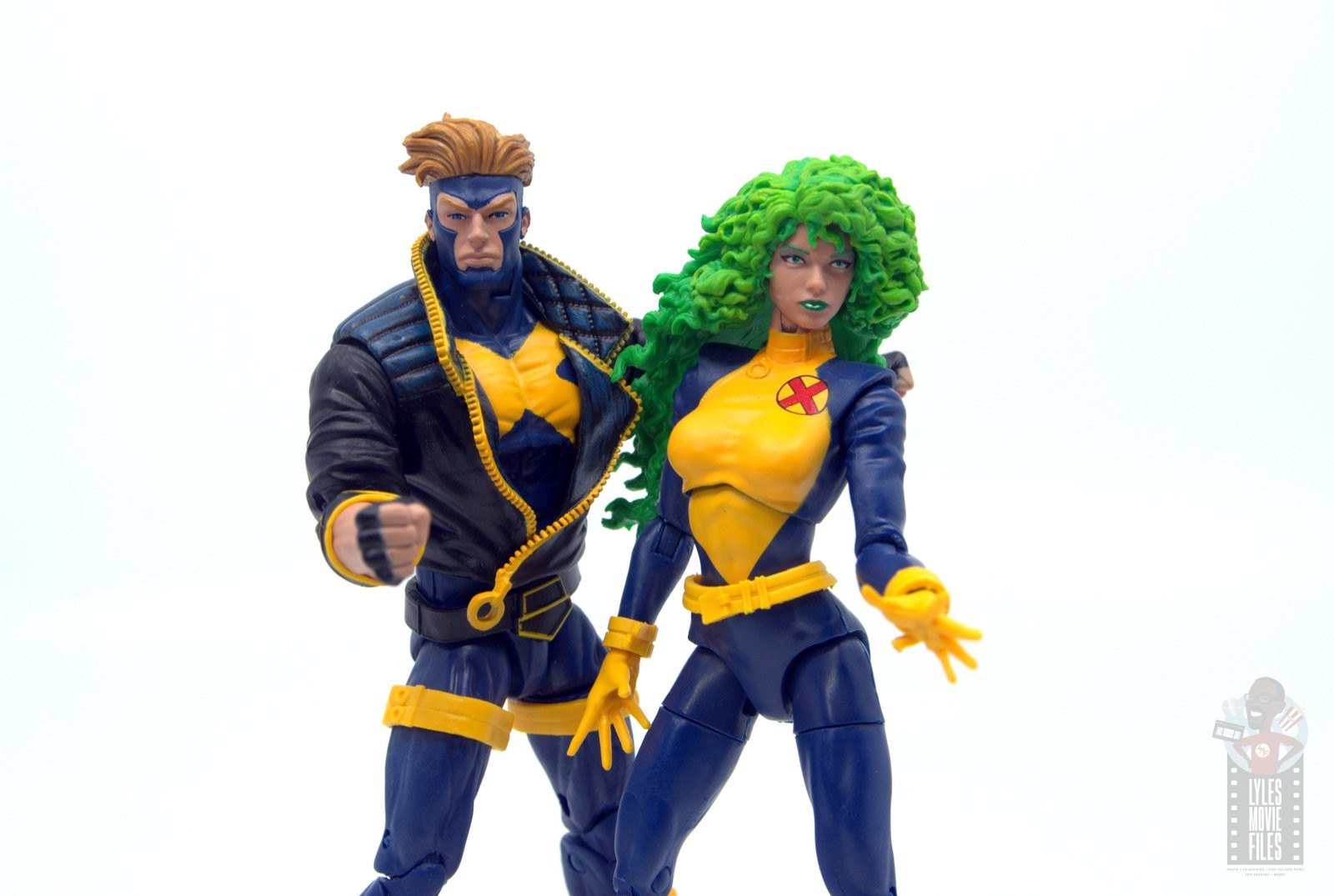"Marvel Legends 6/"" X Factor Havok de Polaris X-MEN 2 Pack Hasbro Loose"