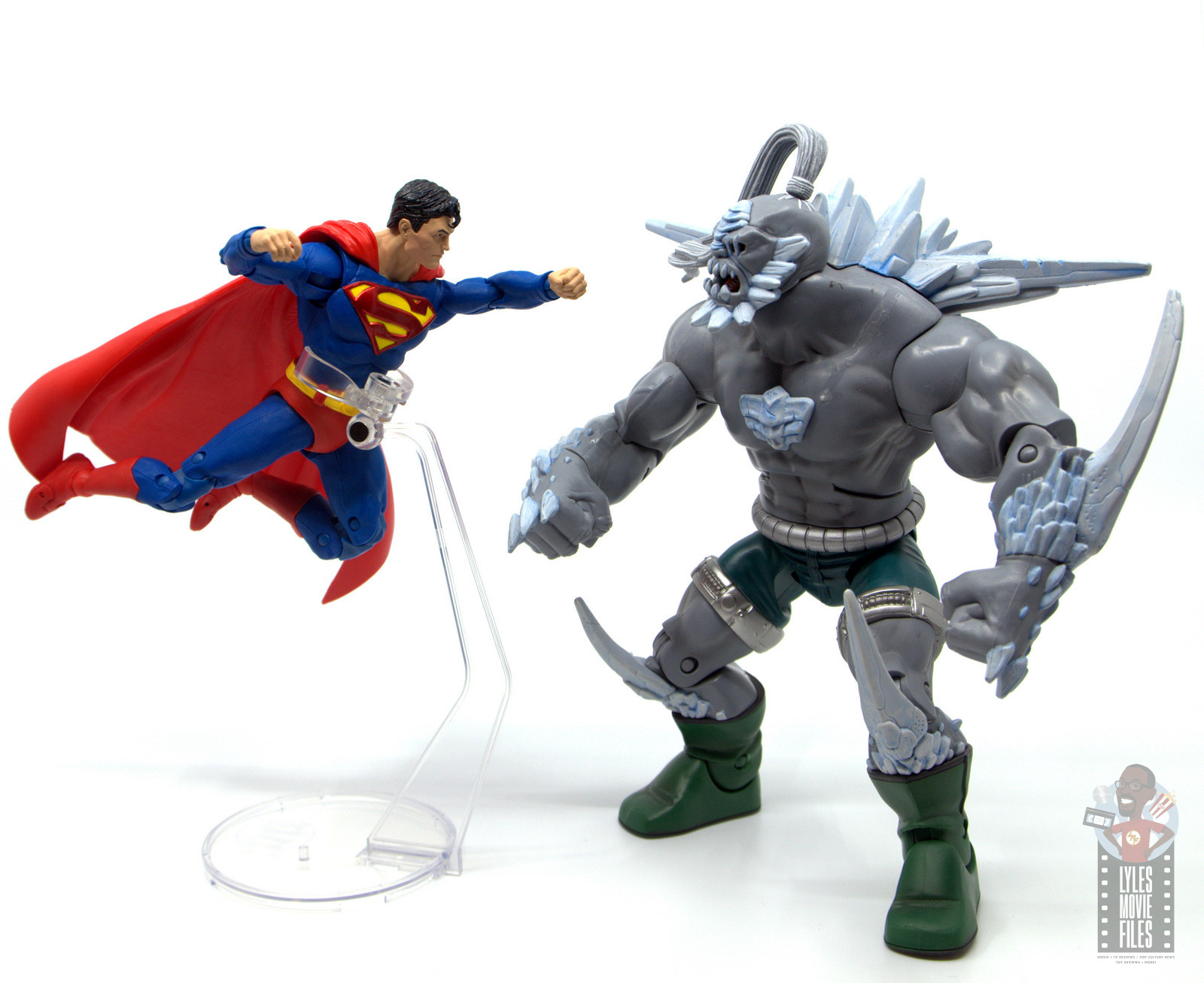 Mcfarlane Toys Dc Multiverse Superman Figure Review Flying