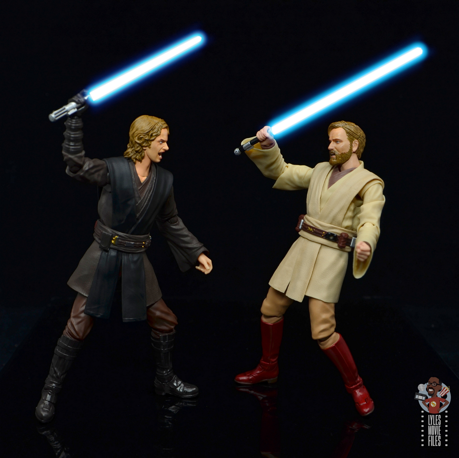 Sh Figuarts Obi Wan Kenobi Revenge Of The Sith Figure Review Fighting Anakin Lyles Movie Files