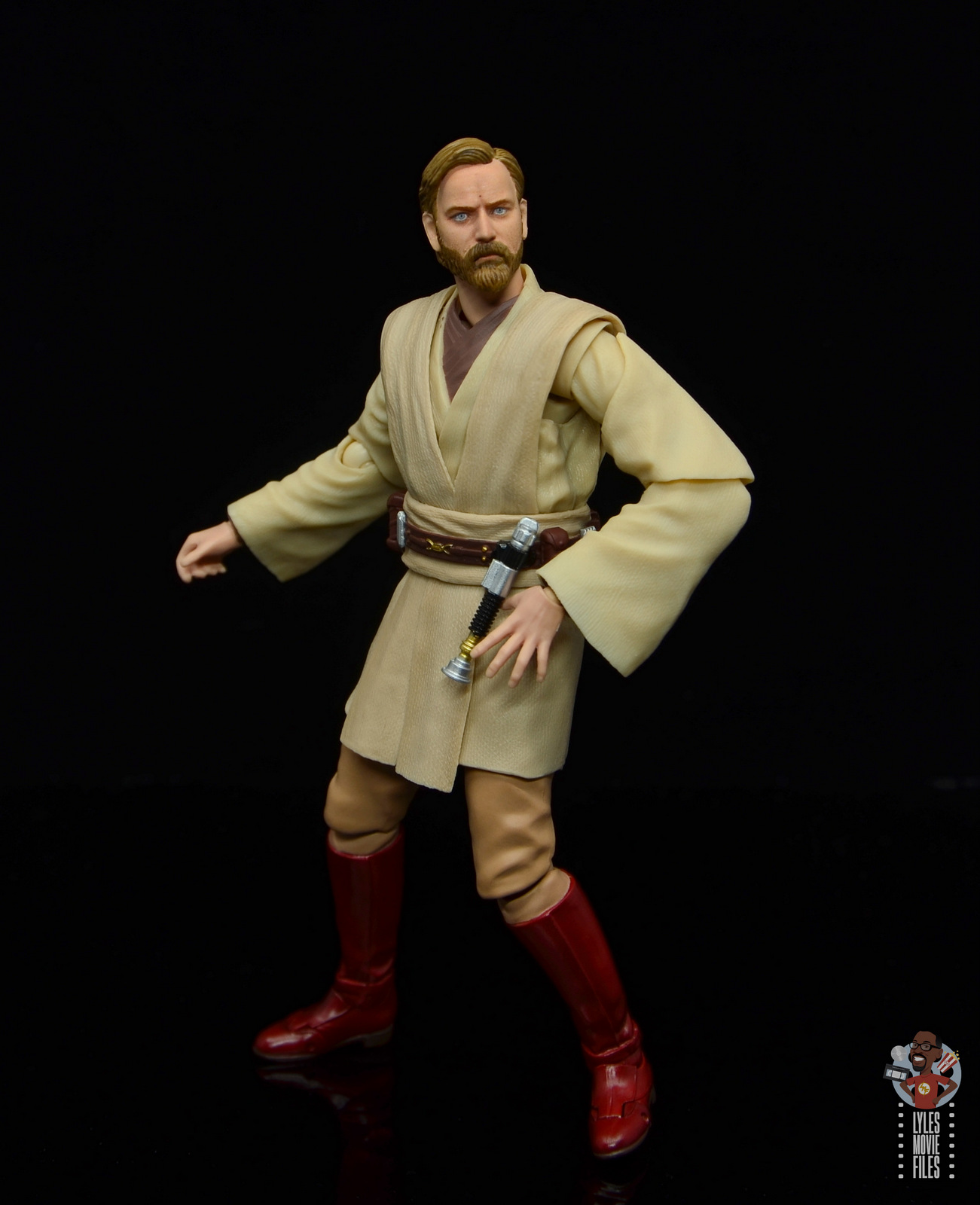 Sh Figuarts Obi Wan Kenobi Revenge Of The Sith Figure Review Reaching For Lightsaber Lyles Movie Files