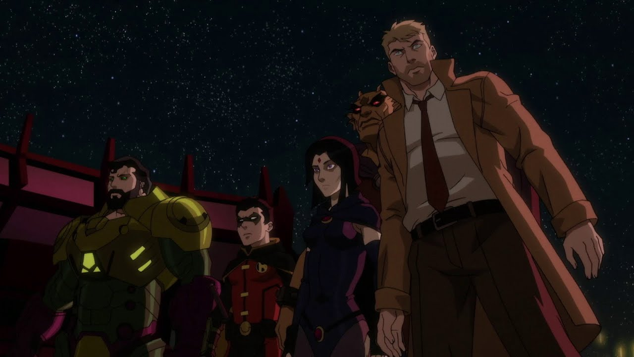 Justice League Dark Apokolips War Review Lyles Movie Files