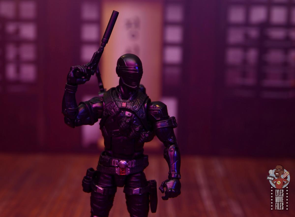 "GI JOE Classified Series 6/"" Snake Eyes Ninja Cobra Destro Villain Set Lot Island"